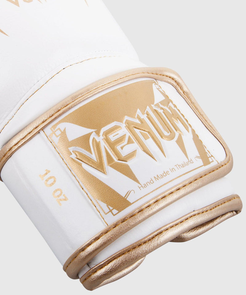 Venum Giant 3.0 Boxing Gloves - Nappa Leather - White/Gold picture 4