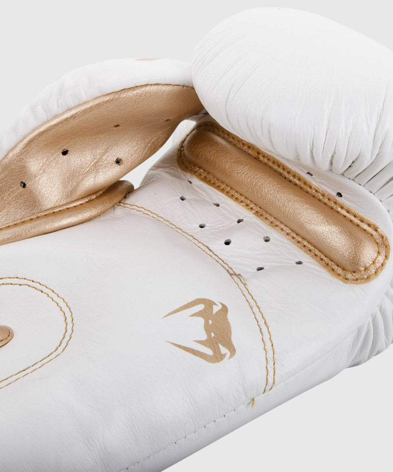 Venum Giant 3.0 Boxing Gloves - Nappa Leather - White/Gold picture 3