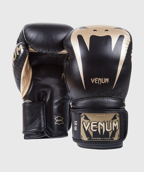 Venum Giant 3.0 Boxing Gloves - Nappa Leather - Black/Gold picture 2