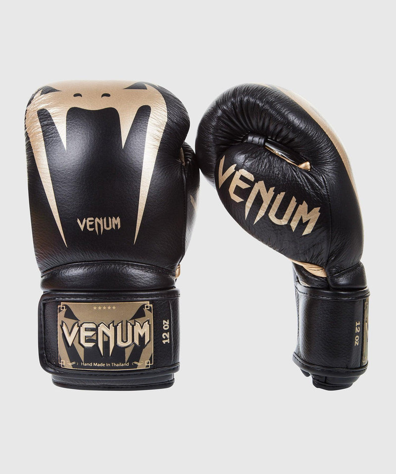 Venum Giant 3.0 Boxing Gloves - Nappa Leather - Black/Gold picture 1