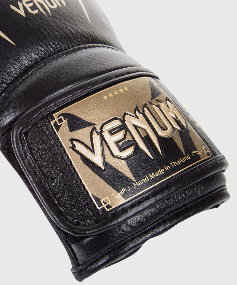 Venum Giant 3.0 Boxing Gloves - Nappa Leather - Black/Gold picture 4