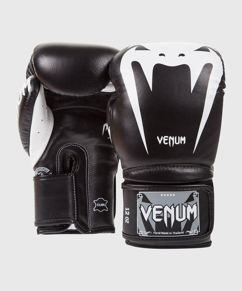 Venum Giant 3.0 Boxing Gloves - Nappa Leather - Black picture 2