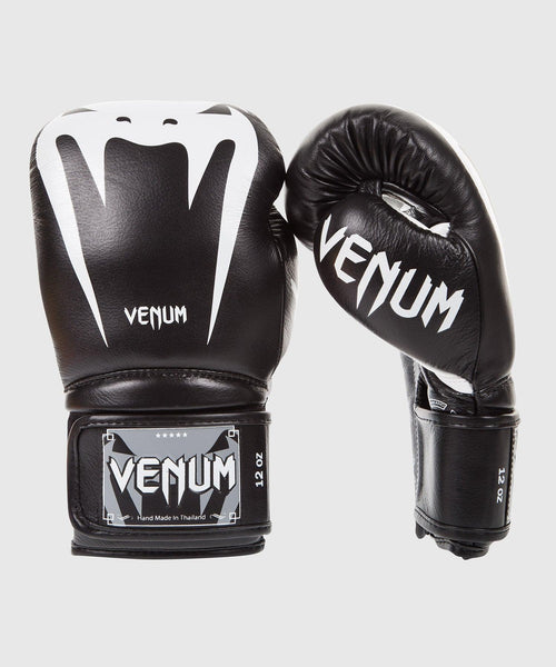 Venum Giant 3.0 Boxing Gloves - Nappa Leather - Black picture 1