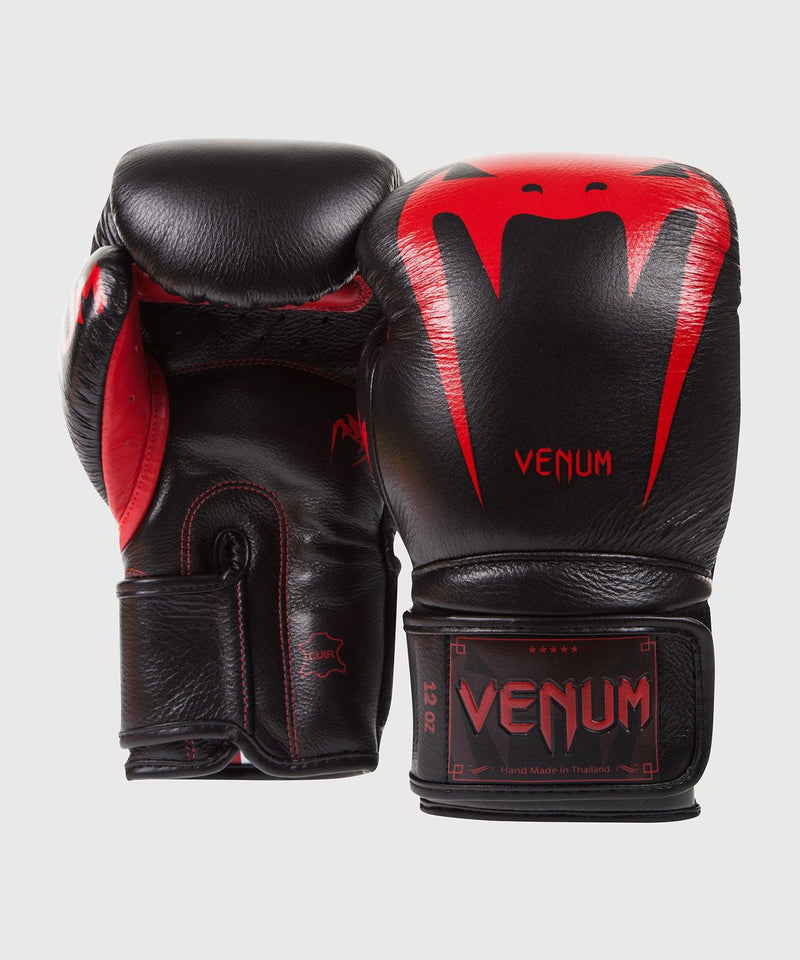 Venum Giant 3.0 Boxing Gloves - Nappa Leather - Black Devil picture 2