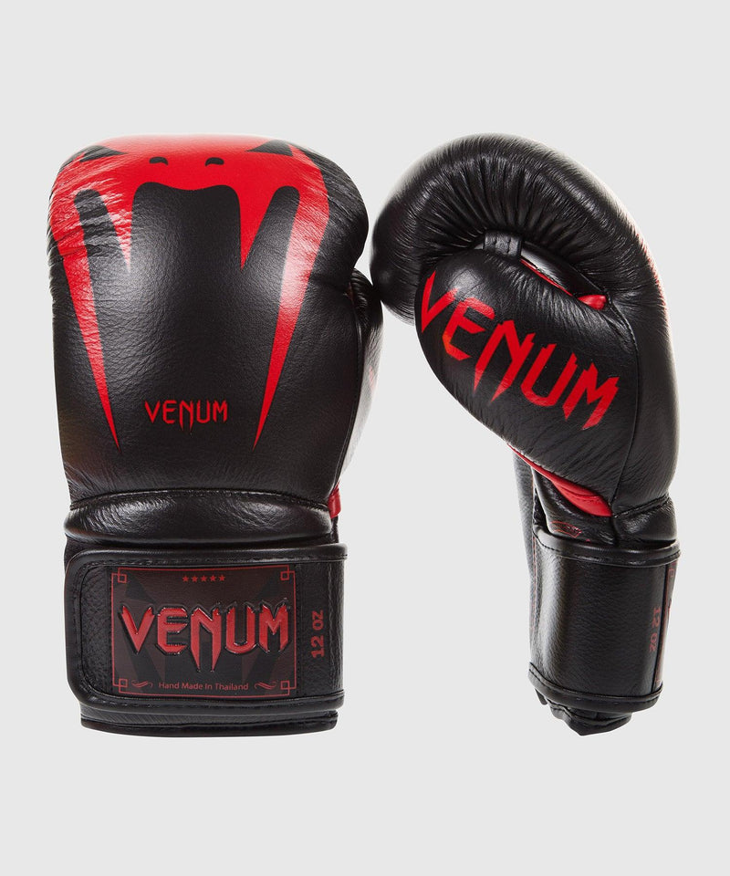 Venum Giant 3.0 Boxing Gloves - Nappa Leather - Black Devil picture 1