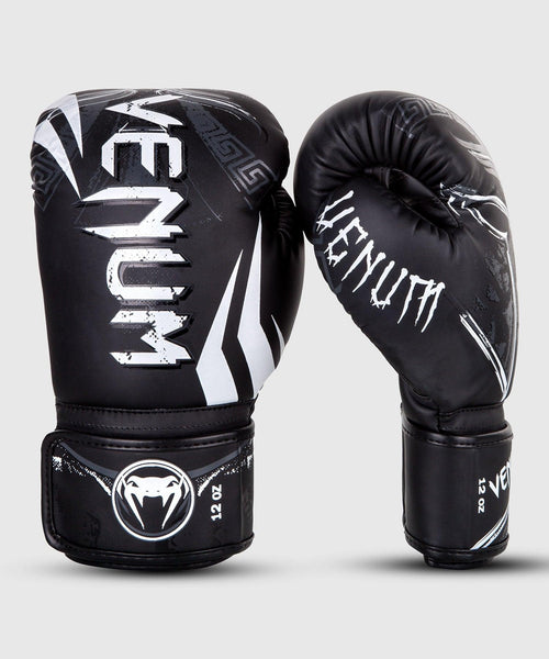 Venum Gladiator 3.0 Boxing Gloves – Black/White picture 1