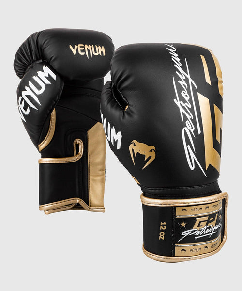 Venum Petrosyan Boxing Gloves - Black/Gold picture 1