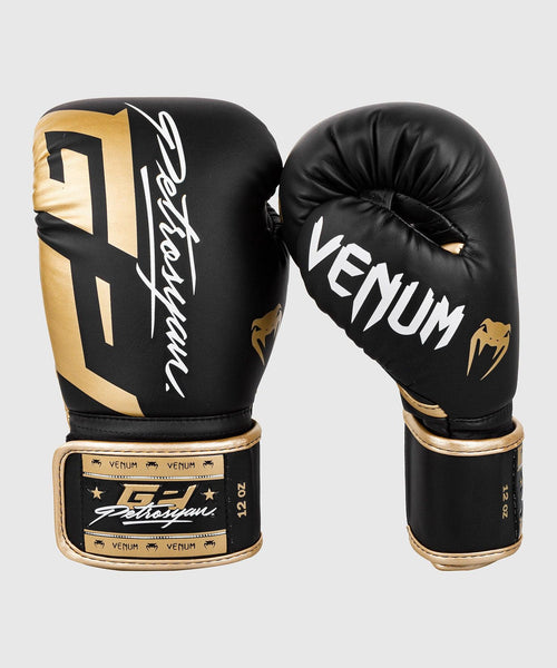 Venum Petrosyan Boxing Gloves - Black/Gold picture 2