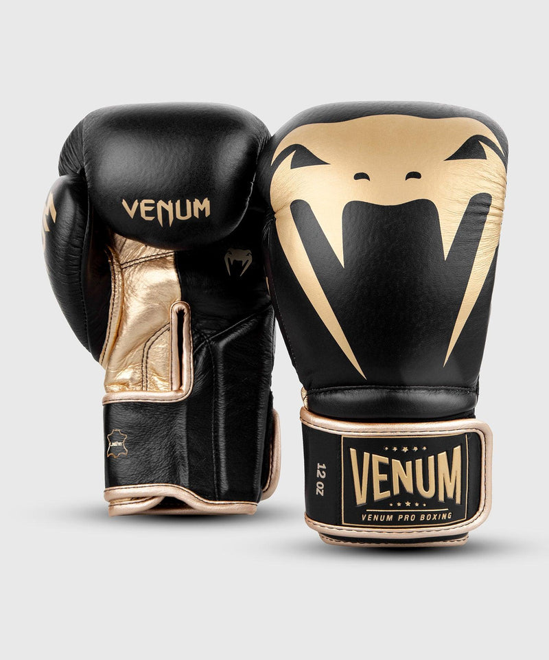 Venum Giant 2.0 Pro Boxing Gloves Velcro - Black/Gold picture 7