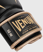 Venum Giant 2.0 Pro Boxing Gloves Velcro - Black/Gold picture 6