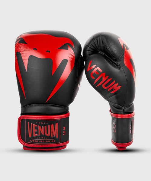 Venum Giant 2.0 Pro Boxing Gloves Velcro - Black/Red picture 2