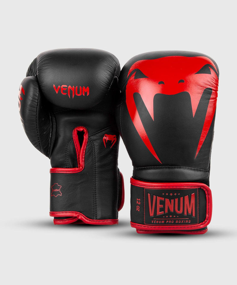 Venum Giant 2.0 Pro Boxing Gloves Velcro - Black/Red picture 3