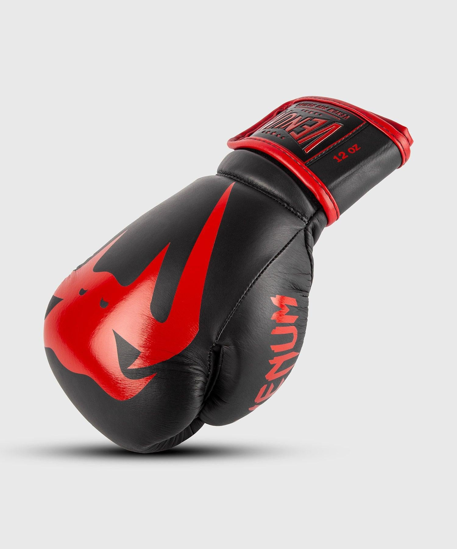 Venum Giant 2.0 Pro Boxing Gloves Velcro - Black/Red picture 1