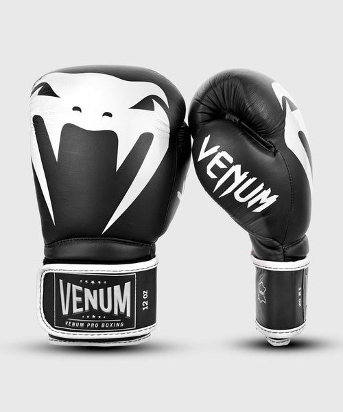 Venum Giant 2.0 Pro Boxing Gloves Velcro - Black/White picture 6