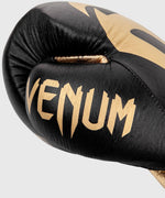 Venum Giant 2.0 Pro Boxing Gloves - With Laces - Black/Gold picture 2
