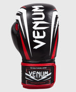 Venum Sharp Boxing Gloves - Black/Ice/Red - Nappa Leather picture 3