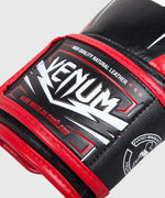 Venum Sharp Boxing Gloves - Black/Ice/Red - Nappa Leather picture 5