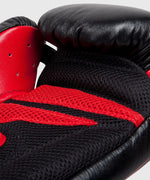 Venum Sharp Boxing Gloves - Black/Ice/Red - Nappa Leather picture 6