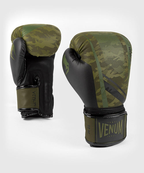 Venum Trooper boxing gloves - Forest camo/Black picture 1