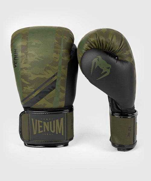 Venum Trooper boxing gloves - Forest camo/Black picture 2