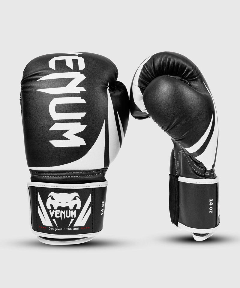 Venum Challenger 2.0 Boxing Gloves - Black/White picture 1