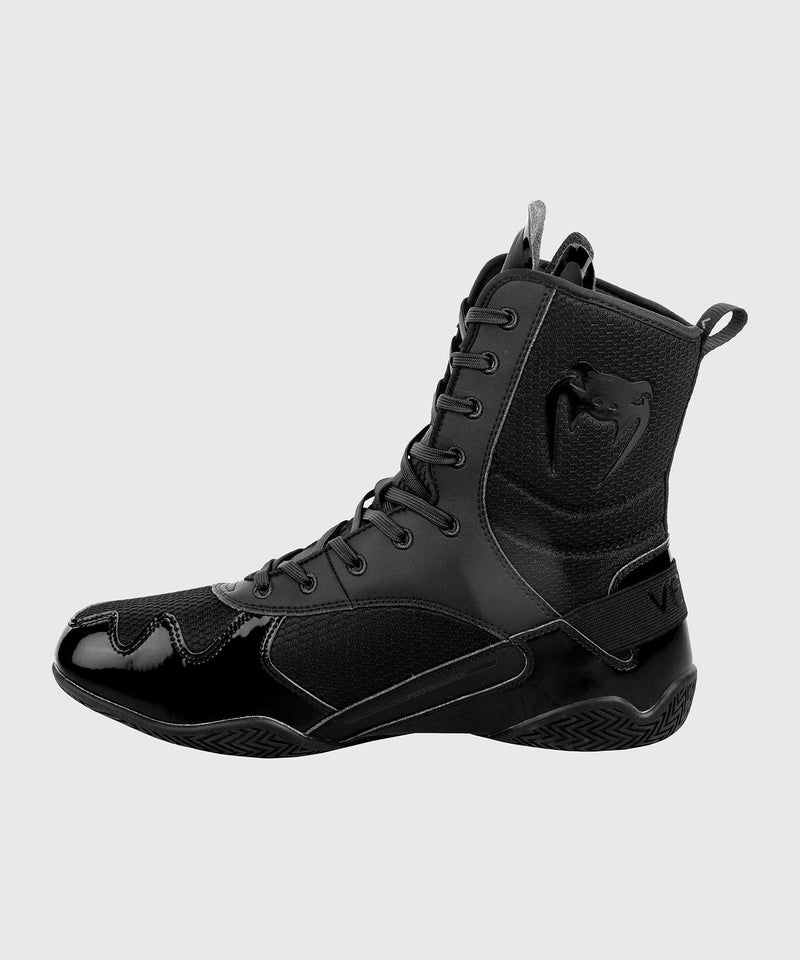 Venum Elite Boxing Shoes - Black/Black picture 5