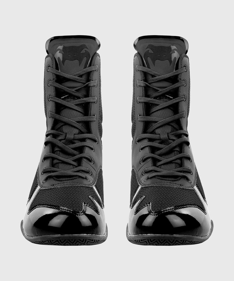 Venum Elite Boxing Shoes - Black/Black picture 4