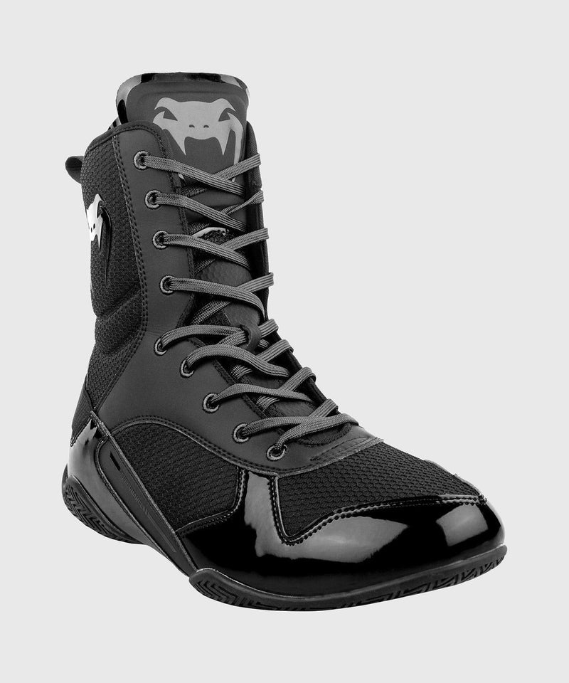 Venum Elite Boxing Shoes - Black/Black picture 3