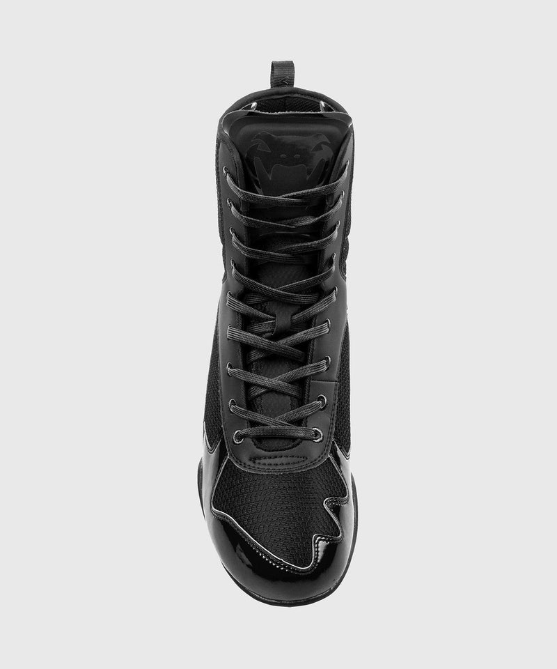 Venum Elite Boxing Shoes - Black/Black picture 6