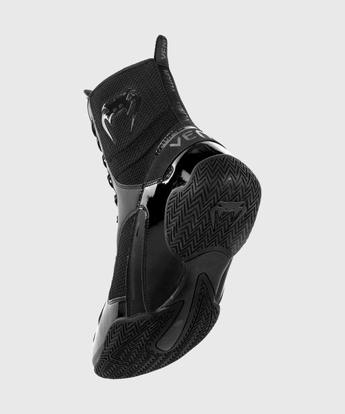 Venum Elite Boxing Shoes - Black/Black picture 2