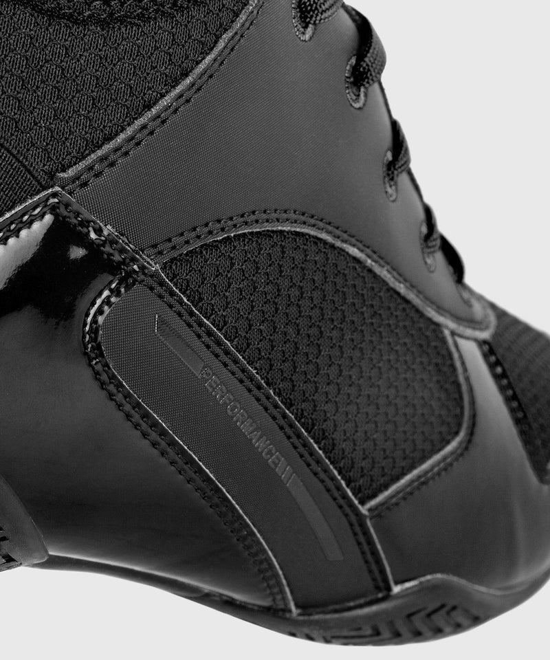 Venum Elite Boxing Shoes - Black/Black picture 10