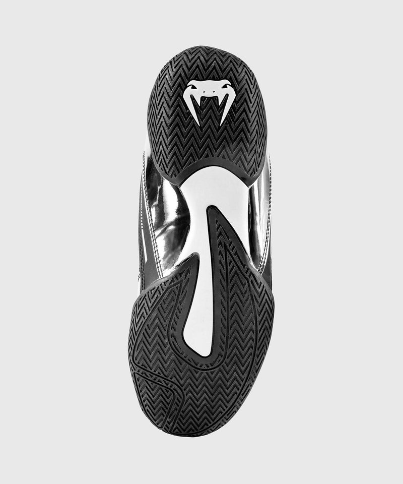 Venum Elite Boxing Shoes - Black/Silver picture 4