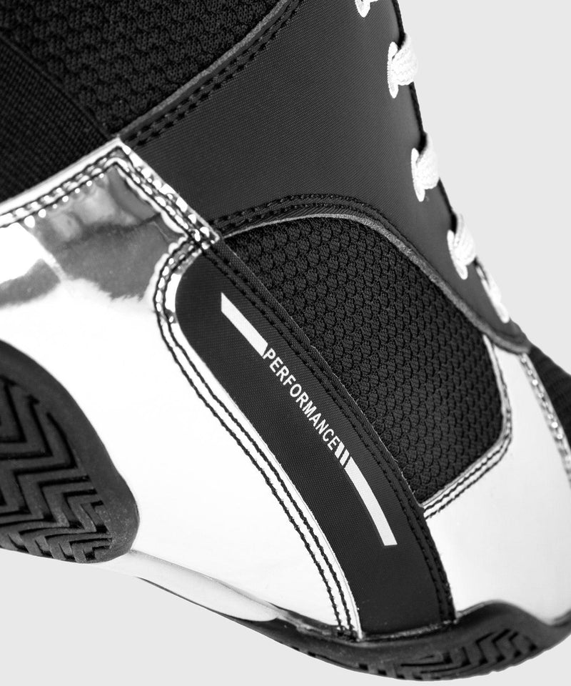 Venum Elite Boxing Shoes - Black/Silver picture 10
