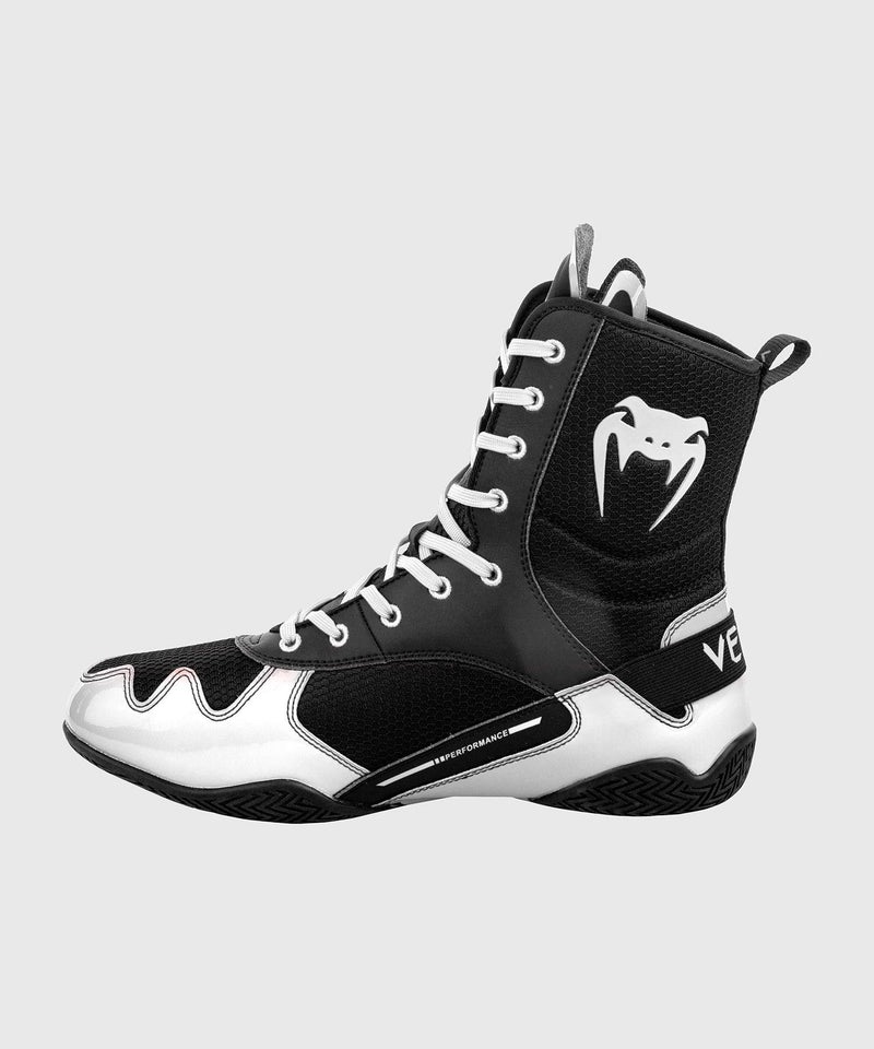 Venum Elite Boxing Shoes - Black/White picture 3