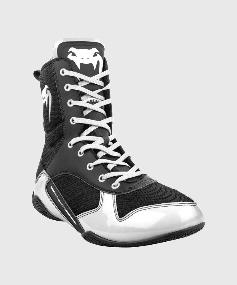Venum Elite Boxing Shoes - Black/White picture 4
