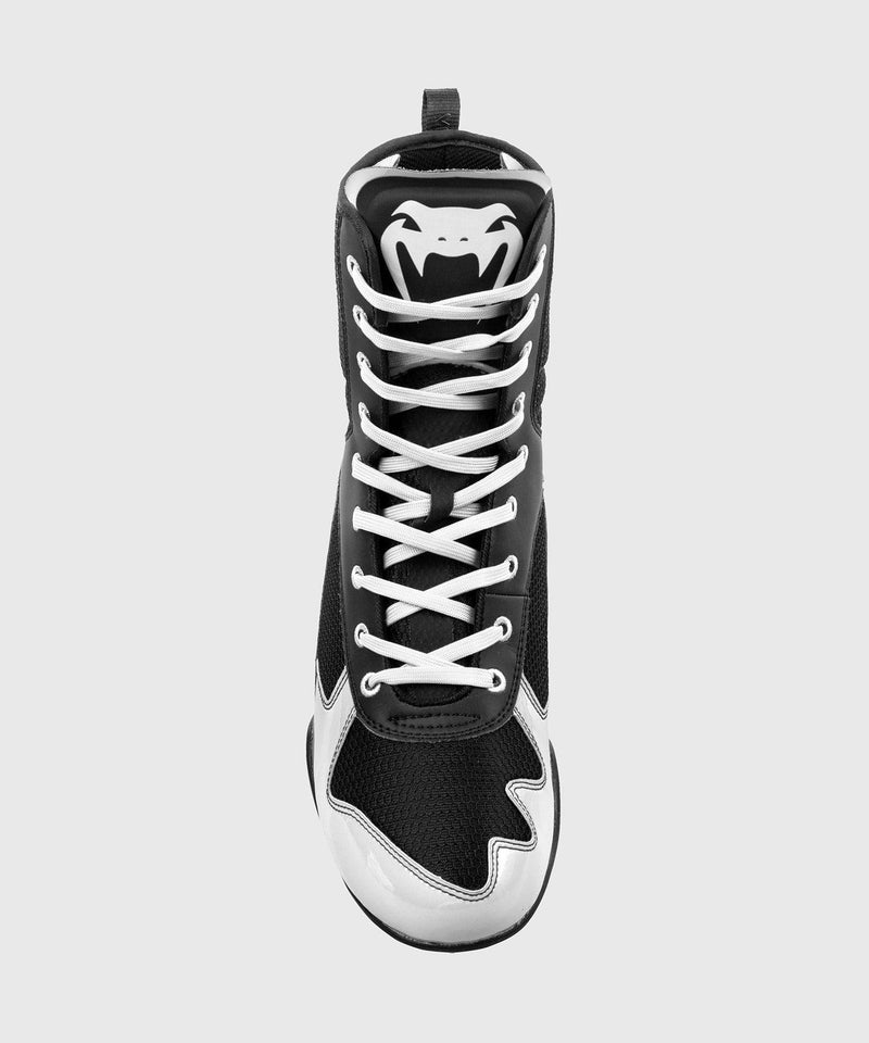 Venum Elite Boxing Shoes - Black/White picture 6