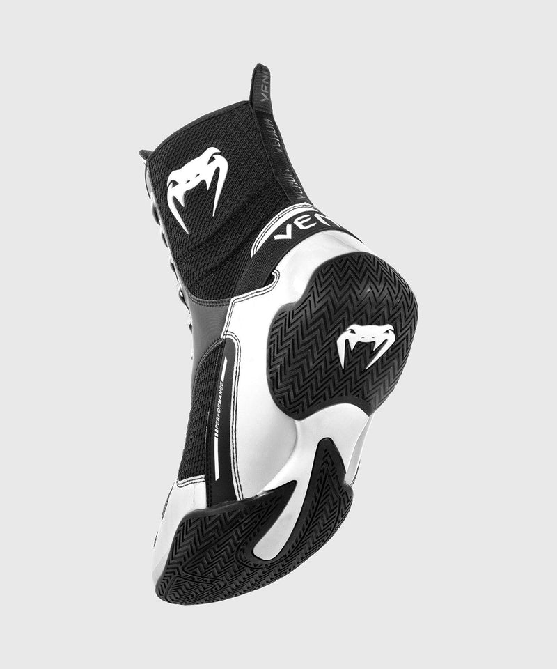 Venum Elite Boxing Shoes - Black/White picture 2