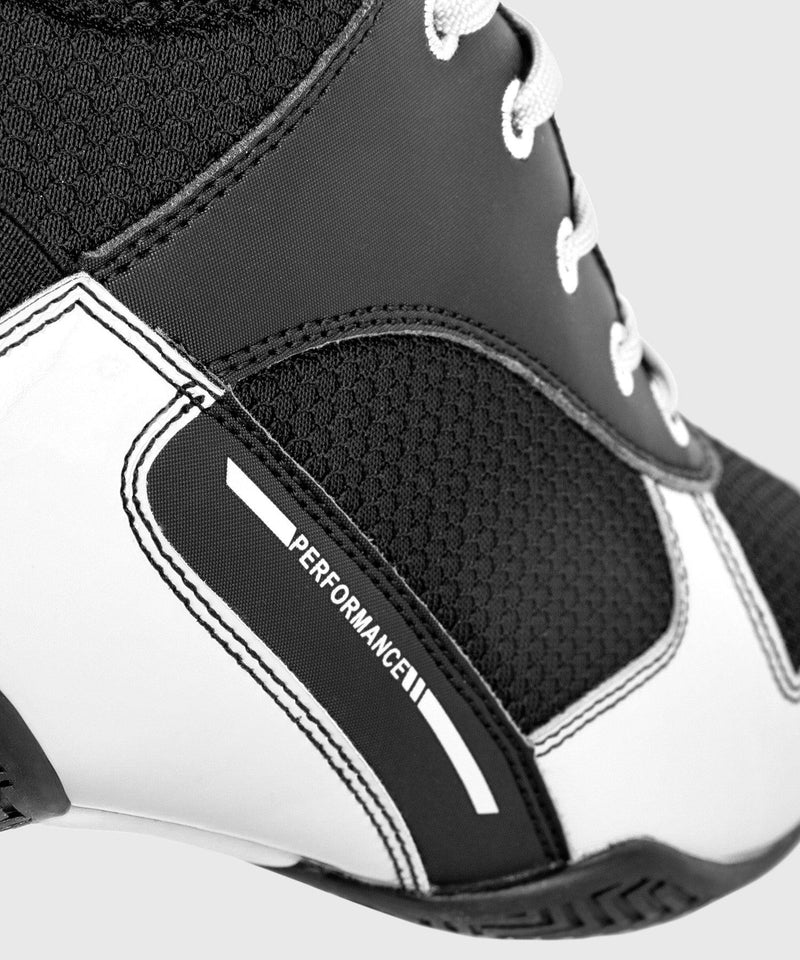 Venum Elite Boxing Shoes - Black/White picture 10