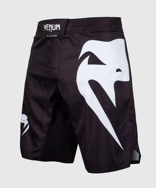 Venum Light 3.0 Fightshorts - Black/White picture 1