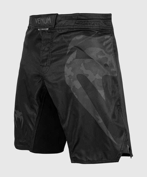 Venum Light 3.0 Fightshorts - Black/Dark camo picture 1