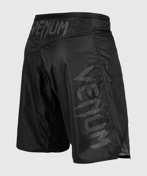 Venum Light 3.0 Fightshorts - Black/Dark camo picture 2