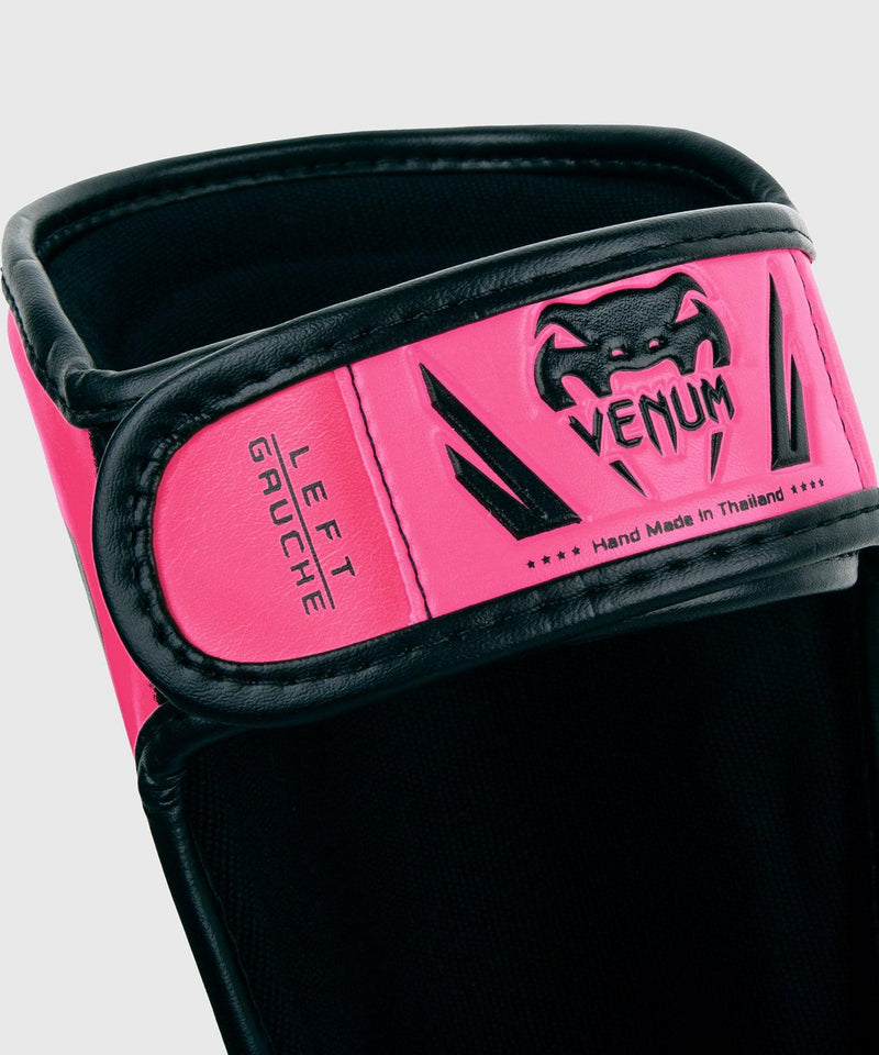 Venum Elite Shin Guards Kids - Exclusive - Neo Pink picture 3