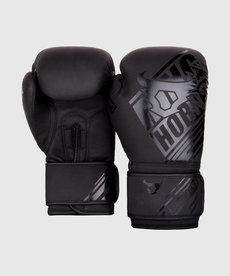 Ringhorns Nitro Boxing Gloves - Black/Black picture 2