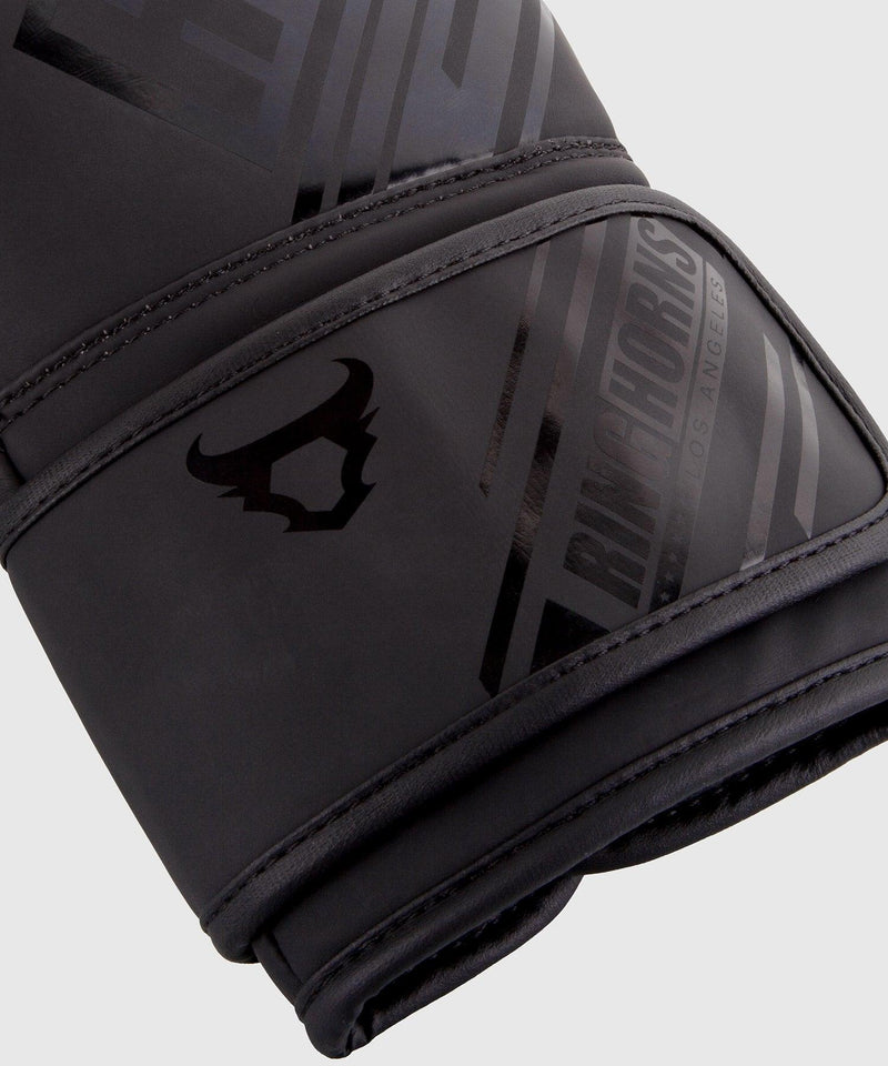 Ringhorns Nitro Boxing Gloves - Black/Black picture 3