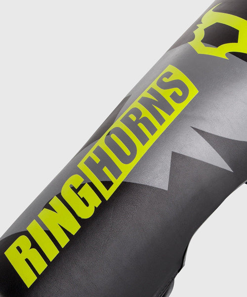 Ringhorns Charger Shin Guards - Black/Neo Yellow picture 2