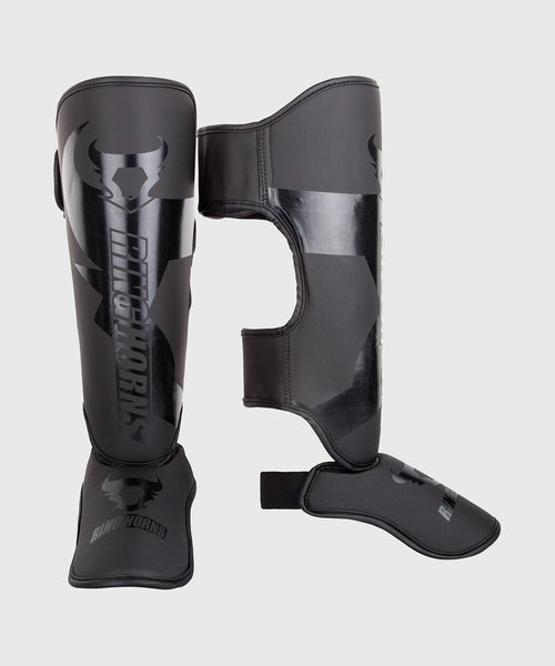 Ringhorns Charger Shin Guards Insteps - Black/Black picture 1