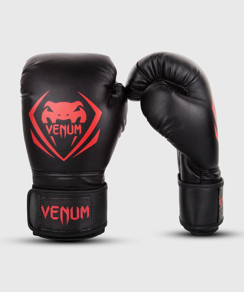 Venum Contender Boxing Gloves - Black/Red picture 1