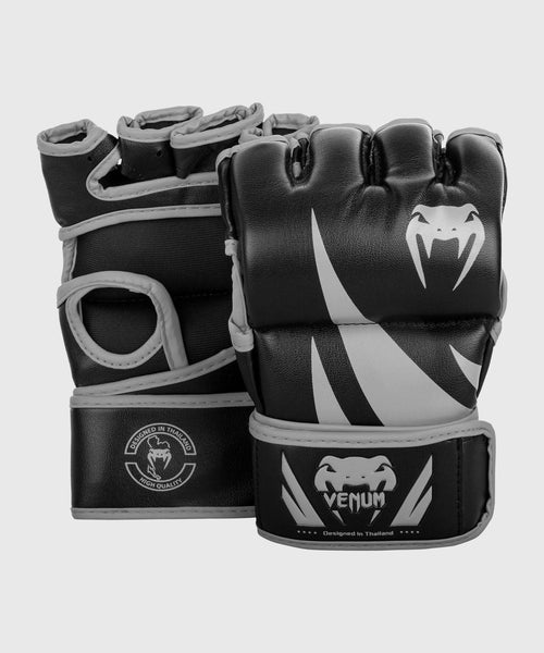 Venum Challenger MMA Gloves - Without Thumb - Black/Grey picture 1