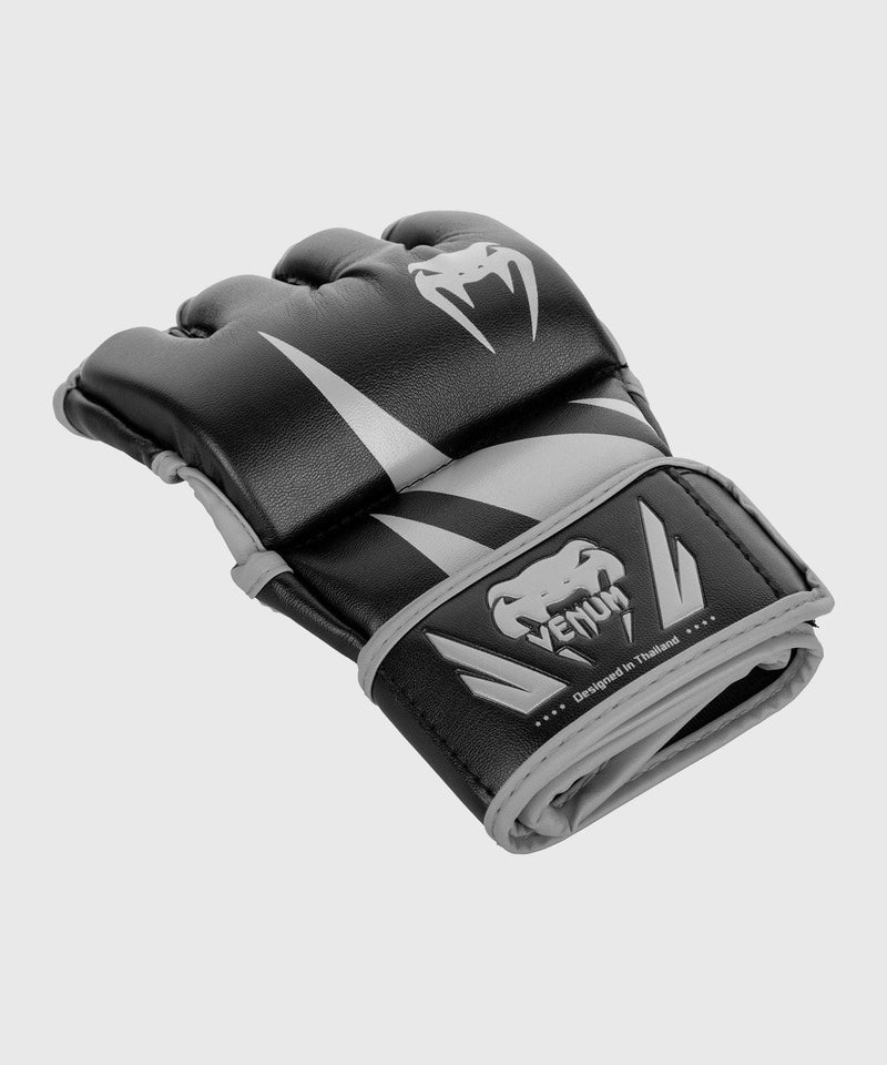 Venum Challenger MMA Gloves - Without Thumb - Black/Grey picture 2