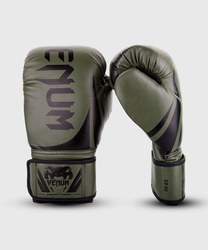 Venum Challenger 2.0 Boxing Gloves – Khaki/Black picture 1